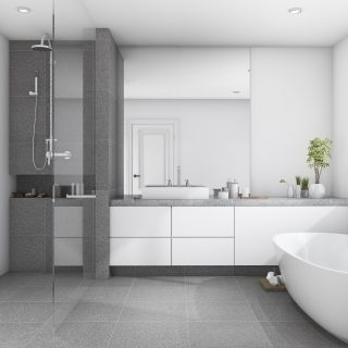 Why should bathrooms be waterproofed?