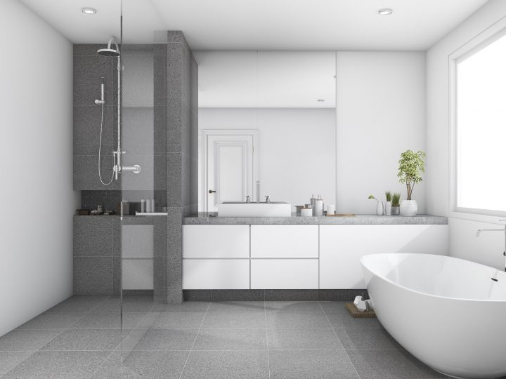 Types of tiles for your kitchen and bathroom