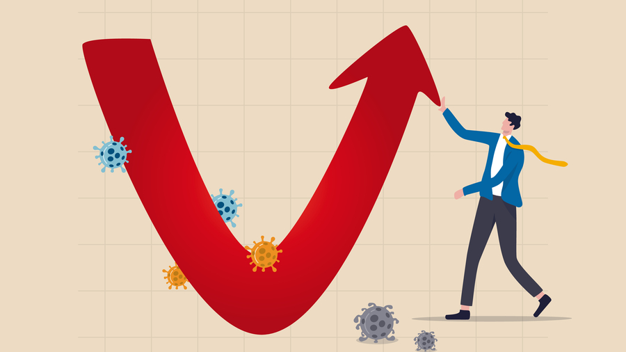 Indian Economy Is Set For V-shaped Recovery In 2021